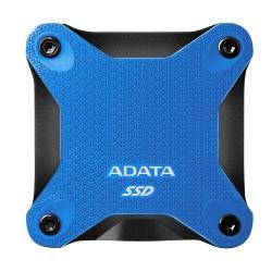 SSD Externo Adata SD600Q, 480GB, USB B, Azul, A Prueba de Golpes