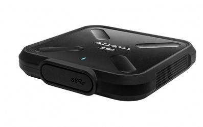 SSD Externo Adata SD700, 1TB, USB 3.1, Negro, A Prueba de Agua, Polvo y Golpes