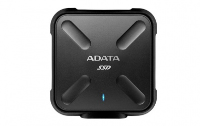 SSD Externo Adata SD700, 512GB, Micro-USB 3.1, Negro, A Prueba de Agua, Polvo y Golpes - Para Mac/PC