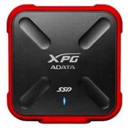 SSD Externo Adata SD700X, 1TB, USB 3.1, Negro/Rojo, A Prueba de Agua, Polvo y Golpes