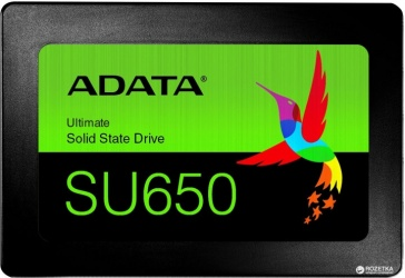SSD Adata Ultimate SU650, 1.92TB, SATA III, 2.5'', 7mm, Blister