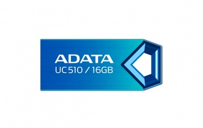 Memoria USB Adata DashDrive UC510, 16GB, USB 2.0, Azul
