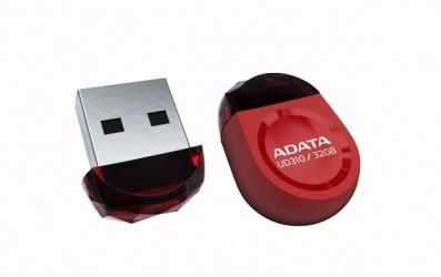 Memoria USB Adata DashDrive Durable UD310, 32GB, USB 2.0, Rojo
