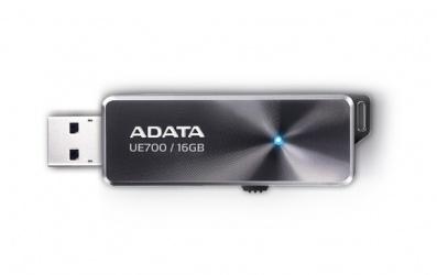 Memoria USB Adata DashDrive Elite UE700, 16GB, USB 3.0, Negro