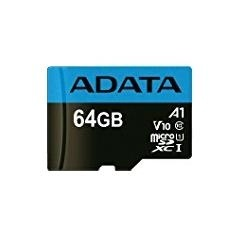 Memoria Flash Adata Premier, 64GB MicroSDXC UHS-I Clase 10, con Adaptador