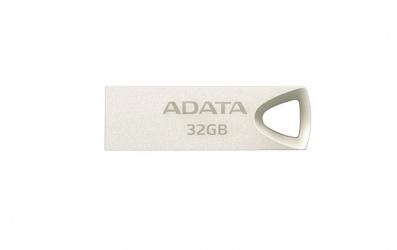 Memoria USB Adata UV210, 32GB, USB 2.0, Dorado Metálico