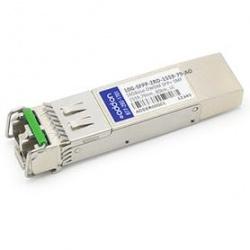 AddOn Módulo Transceptor SFP+, LC, 10.000 Mbit/s, 80Km, 1559.79nm