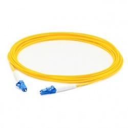 AddOn Cable Fibra Óptica Simplex OS2 LC Macho - LC Macho, 50cm, 9/125, Amarillo
