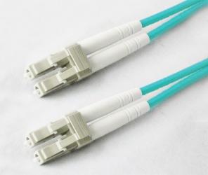 AddOn Cable Fibra Óptica Duplex OM3 LC Macho - LC Macho, 4 Metros, 50/125, Aqua
