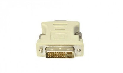 AddOn Adaptador DVI-I Macho - VGA Hembra, Blanco