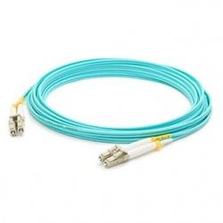 AddOn Cable Fibra Óptica Duplex OM4 LC Macho - LC Macho, 15 Metros, 50/125, Aqua