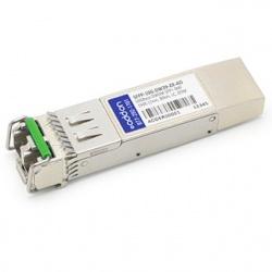 AddOn Módulo Transceptor SFP+, LC, 10000Mbit/s, 80Km, 1546.12nm