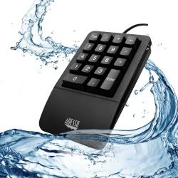 Adesso Teclado Numérico Easy Touch 618, Alámbrico, USB, Negro