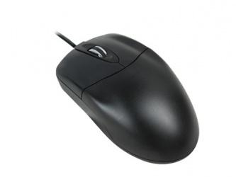 Mouse Adesso Óptico HC-3003PS, Alámbrico, PS/2, 1000DPI, Negro