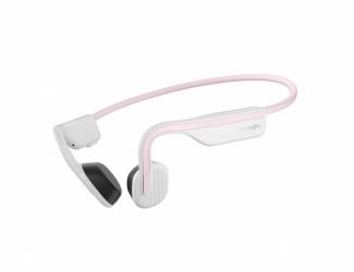 Aftershokz Audífonos Intrauriculares Deportivos con Micrófono Open Move, Inalámbrico, Bluetooth, Rosa/Blanco