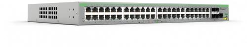 Switch Allied Telesis Fast Ethernet, 48 Puertos 10/100Mbps + 4 Puertos SFP, 17.6 Gbit/s, 16.000 Entradas - Gestionado