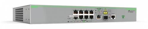 Switch Allied Telesis Fast Ethernet AT-FS980M/9-10, 8 Puertos 10/1000Mbps + 1 Puertos SFP, 3.6 Gbit/s, 16.000 Entradas - Gestionado