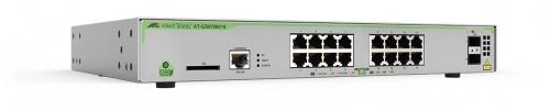 Switch Allied Telesis Gigabit Ethernet AT-GS970M/18-10, 16 Puertos 10/100/1000 Mbps + 2 Puertos SFP, 36 Gbit/s, 16.000 Entradas - Gestionado