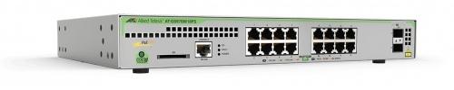 Switch Allied Telesis Gigabit Ethernet GS970M/18PS, 16 Puertos 10/100/1000 Mbps + 2 Puertos SFP, 36 Gbit/s, 16.000 Entradas - Gestionado