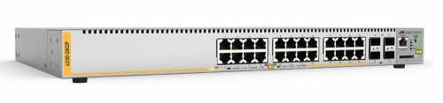 Switch Allied Telesis Gigabit Ethernet AT-X230-28GP, 24 Puertos 10/100/1000 + 4 Puertos SFP, 56 Gbit/s, 16.000 Entradas - Gestionado