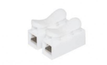 Alter Conector de Empalme ALT-CN2, 2 Terminales, Blanco