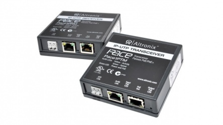 Altronix Adaptador e Inyector de PoE PACE1PRMT, 10/100 Mbit/s, 2x RJ-45, hasta 500 Metros
