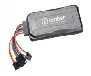Amber Connect Rastreador GPS para Automóvil AMB363G, 66 Canales, Negro