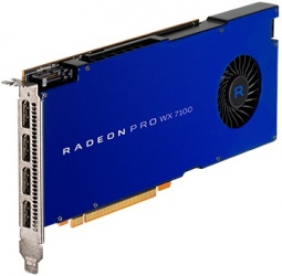 Tarjetas de Video AMD Radeon Pro WX 7100, 8GB 256-bit GDDR5, PCI Express 3.0 x16