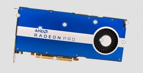 Tarjeta de Video AMD Radeon Pro W5500, 8GB 128-bit GDDR6, PCI Express x16 4.0