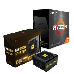 Procesador AMD Ryzen 7 5800X, S-AM4, 3.80GHz, 8-Core, 32MB L3 Cache — incluye Fuente de Poder In Win P65F 650W 80 PLUS Gold