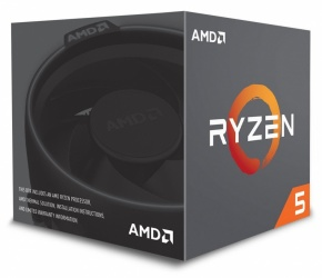 Procesador AMD Ryzen 5 2600, S-AM4, 3.40GHz, Six-Core, 16MB L3 Cache