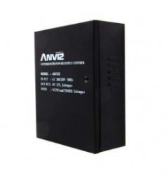 Anviz Fuente de Poder para Control de Acceso AN-ACC105A, Entrada 220V, Salida 12V, Negro