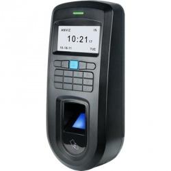 Anviz Control de Acceso y Asistencia Biométrico VF30, 1000 Usuarios, Negro