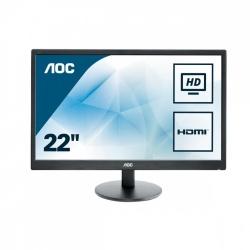 Monitor AOC E2270SWHN LED 21.5'', Full HD, Widescreen, HDMI, Negro
