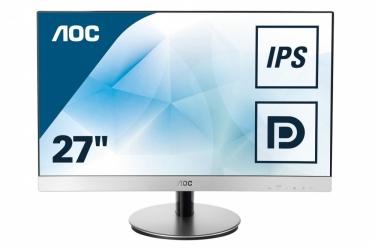 Monitor AOC i2769Vm LED 27'', Full HD, Widescreen, HDMI, Bocinas Integradas, Negro