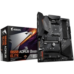 Tarjeta Madre AORUS ATX B550 ELITE, S-AM4, AMD B550, HDMI, 128GB DDR4 para AMD — Requiere Actualización de BIOS para la Serie Ryzen 5000