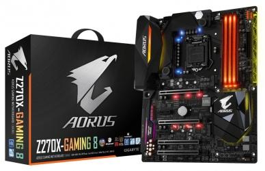 Tarjeta Madre AORUS ATX GA-Z270X-GAMING 8, LGA1151, Intel Z270, HDMI, 64GB DDR4-SDRAM para Intel