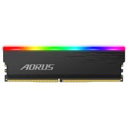 Kit Memoria RAM AORUS RGB DDR4, 3733MHz, 16GB (2 x 8GB), Non-ECC, CL18, XMP