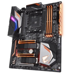 Tarjeta Madre AORUS ATX X470-Gaming 7 Wifi, S-AM4, X470, HDMI, 64GB DDR4 para AMD