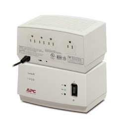 Regulador APC LE1200 Line-R, 1200VA, 680J, 4 Contactos