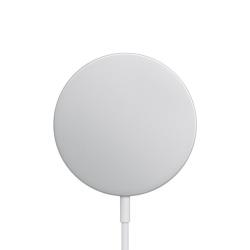 Apple Cargador Inalámbrico MagSafe, Plata/Blanco