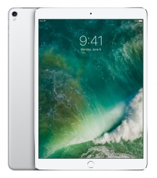 Apple iPad Pro Retina 10.5'', 256GB, 2224x1668 Pixeles, iOS 10, WiFi+Cellular, Bluetooth 4.2, Plata (Agosto 2017)