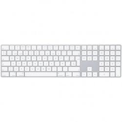 Apple Teclado Magic MQ052E/A, Bluetooth, Blanco (Español)