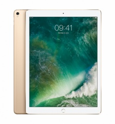 Apple iPad Pro Retina 12.9'', 64GB, 2732 x 2048 Pixeles, iOS 10, WiFi, Bluetooth 4.2, Oro