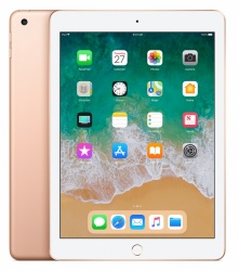"Apple iPad Retina 9.7"", 128GB, 2048 x 1536 Pixeles, iOS 11, WiFi, Bluetooth 4.2, Oro (Mar 2018)"