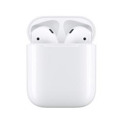 Apple Audífonos Intrauriculares AirPods (2da. Generación), Inalambrico, Blanco - incluye Estuche de Carga