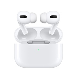 Apple Audífonos Intrauriculares AirPods Pro, Inalámbrico, Bluetooth, Blanco - incluye Estuche de Carga Inalámbrica