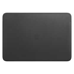 "Apple Funda de Piel para MacBook Pro 16"", Negro"