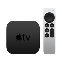 Apple TV MXH02CL/A, 4K Ultra HD, 64GB, Bluetooth 5.0, HDMI, Negro/Plata
