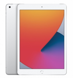 "Apple iPad 8 Retina 10.2"", 128GB, Wi-Fi + Cellular, Plata (8.ª Generación - Septiembre 2020)"